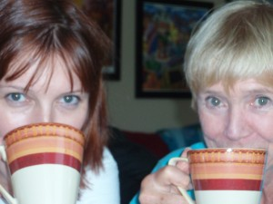 Tea time with Mommers