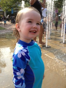 Easton splash pad fun