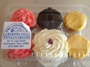 Mrs Goodmans cupcakes