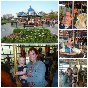 2011 Columbus Commons & Columbus Zoo carousels