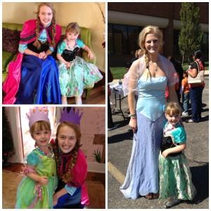 Anna & Elsa 2014