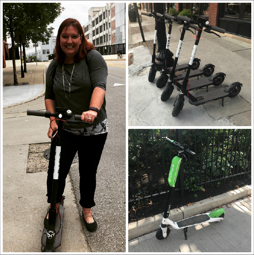 I rode a Bird scooter and lived - Lewis Center Mom
